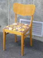 20 30 luvun ruokapöydän tuolit,